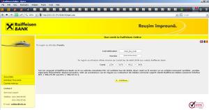 Raiffeisen Bank Phishing - Apogeul